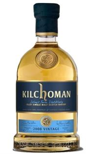 Kilchoman Single Malt Scotch Seasonal Vintage Release 2008...